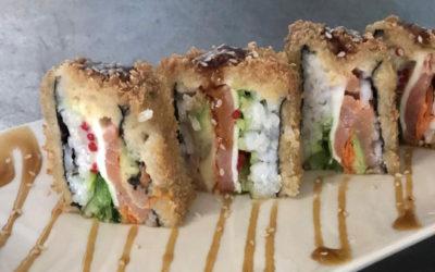 Sushi Roll con panko